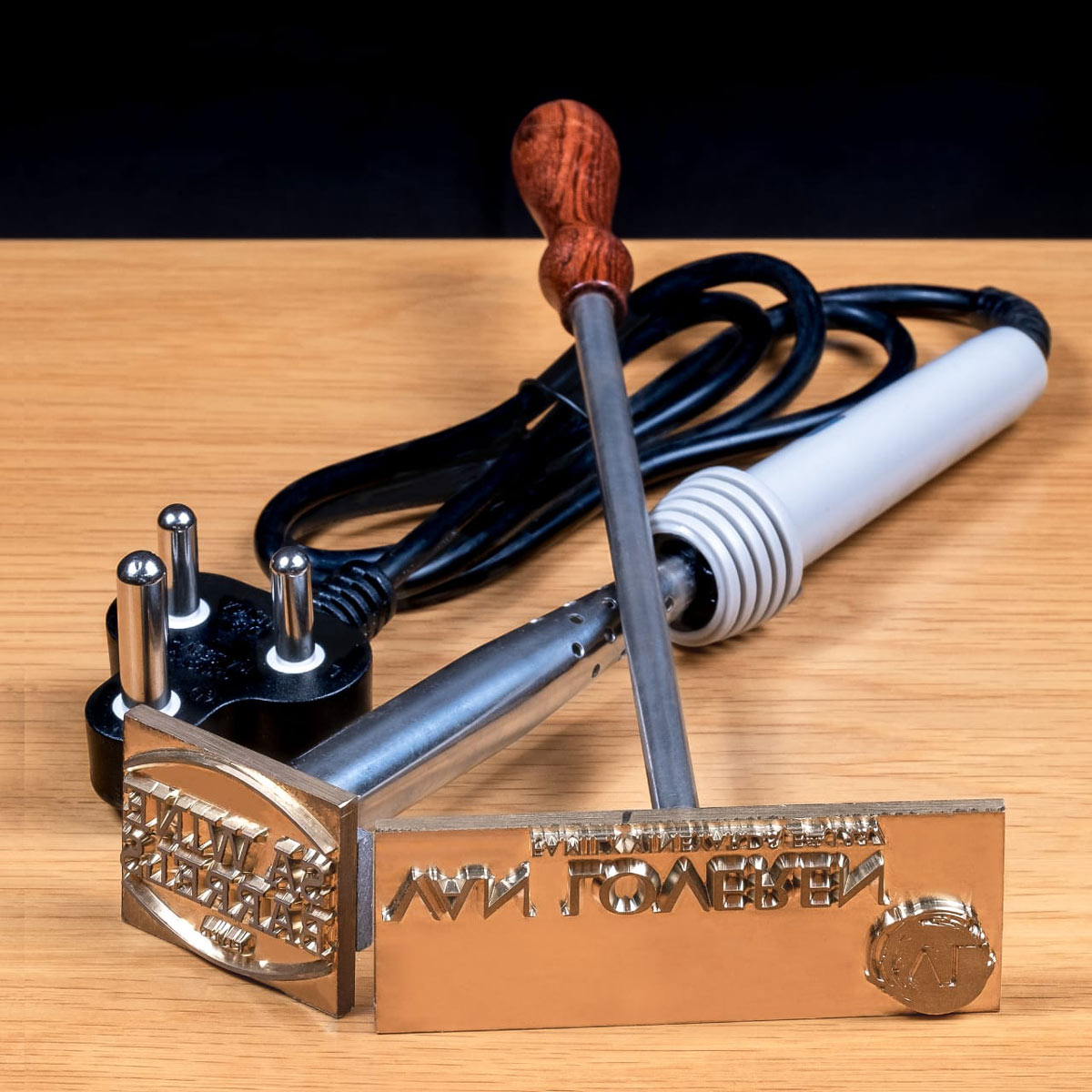 Branding Irons For Wood And Leather Manufactured In South Africa