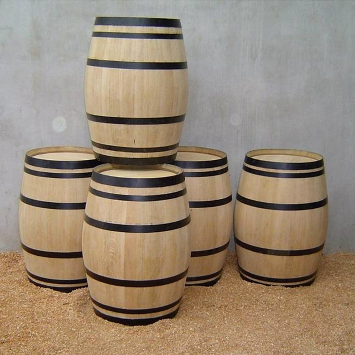 Display Wine Barrels