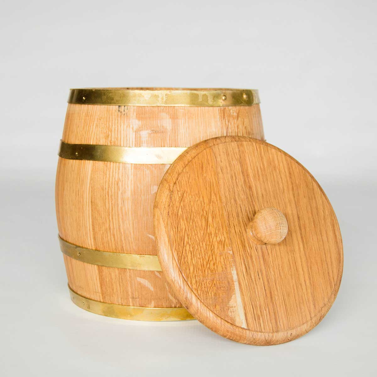French Oak Wine Barrel Ice Bucket