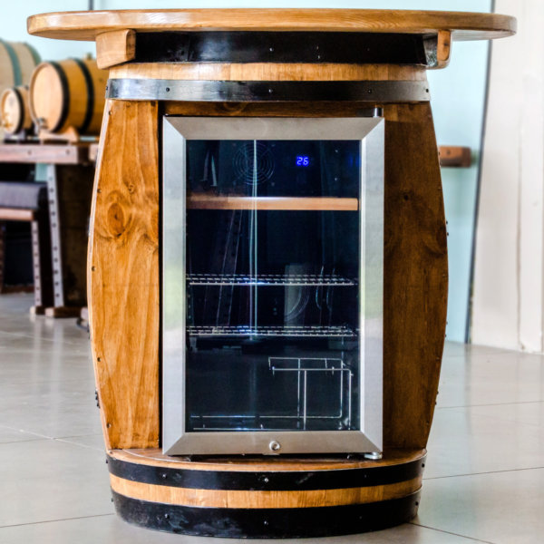WIne Barrel Fridge