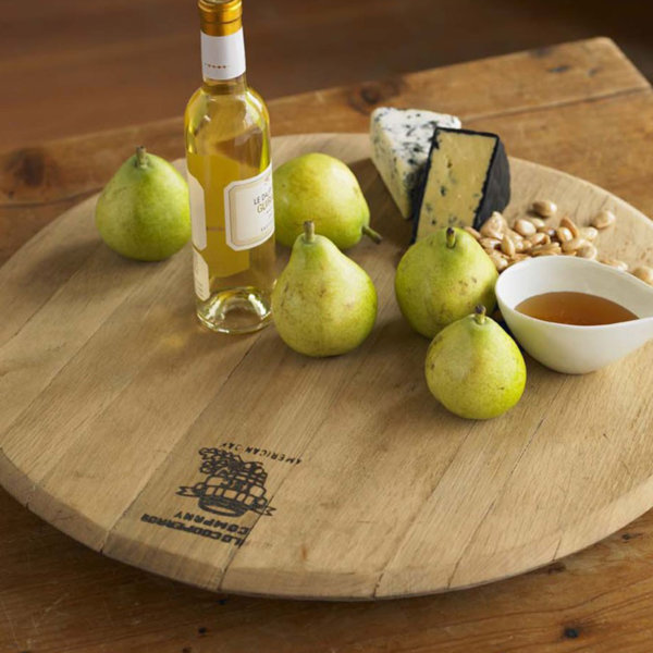 Wine Barrel Cheese Boards