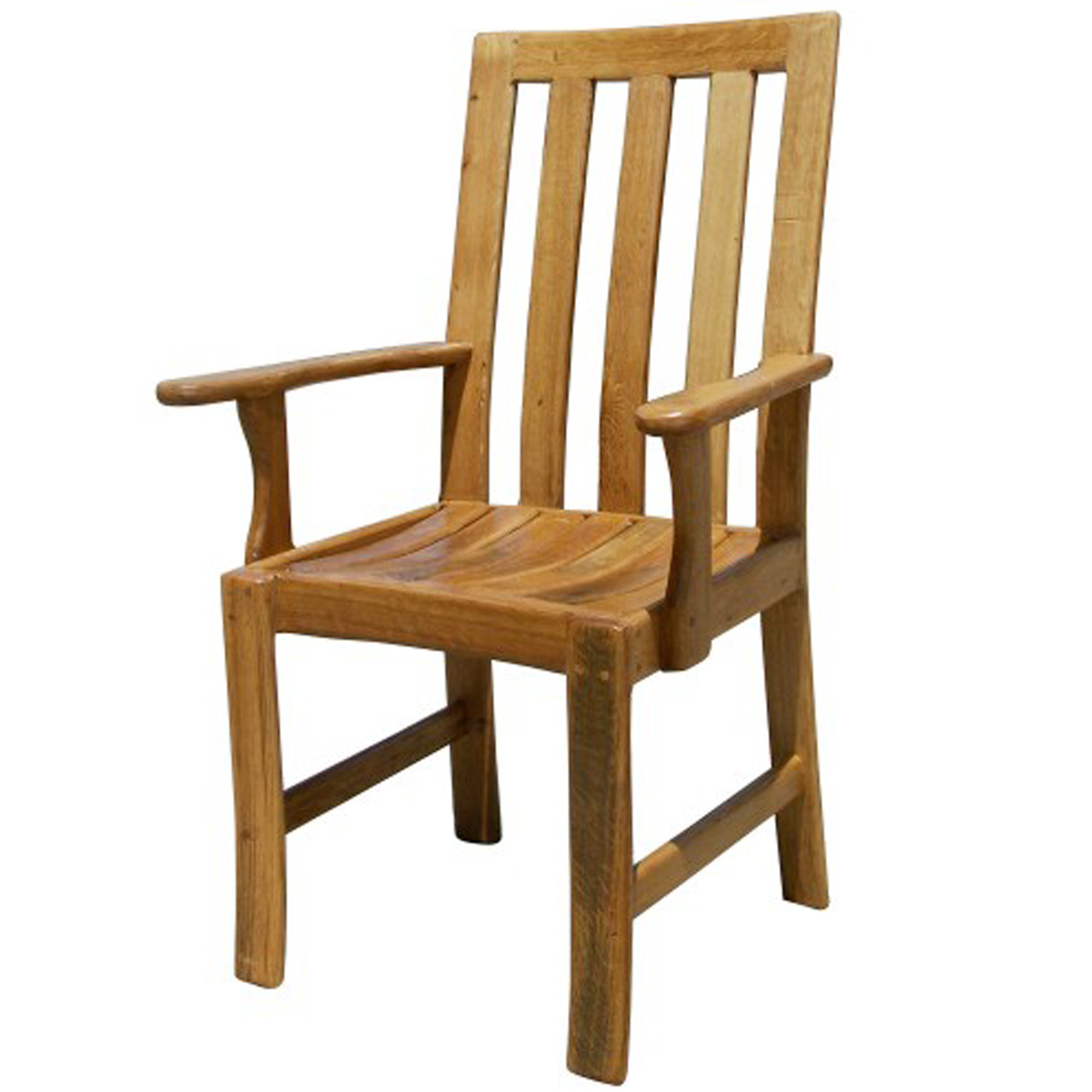 Wine Barrel Dining Room Chairs With Arm Rest