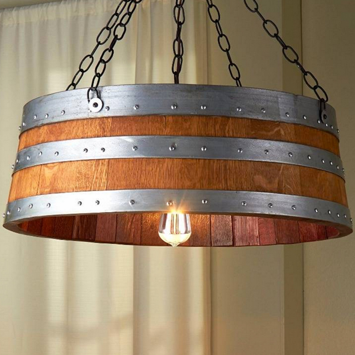 Wine Barrel Lighting Sa Barrels