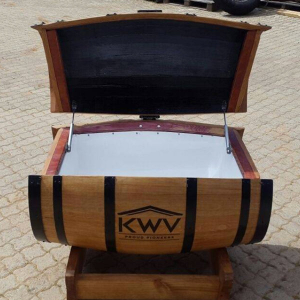 Wine Barrel Cooler Box