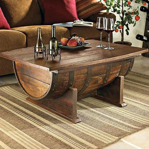 Wine Barrel Coffee Tables