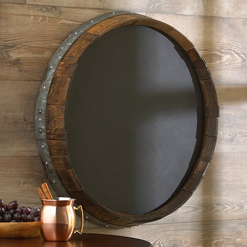 Wine Barrel Mirrors