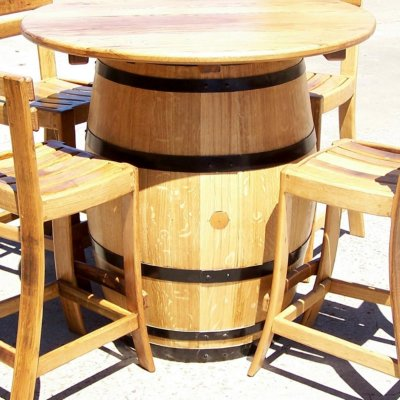 wood barrel furniture. Wine Barrel Furniture Wood