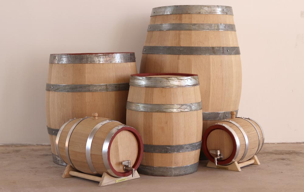 Oak Kegs and Barrels