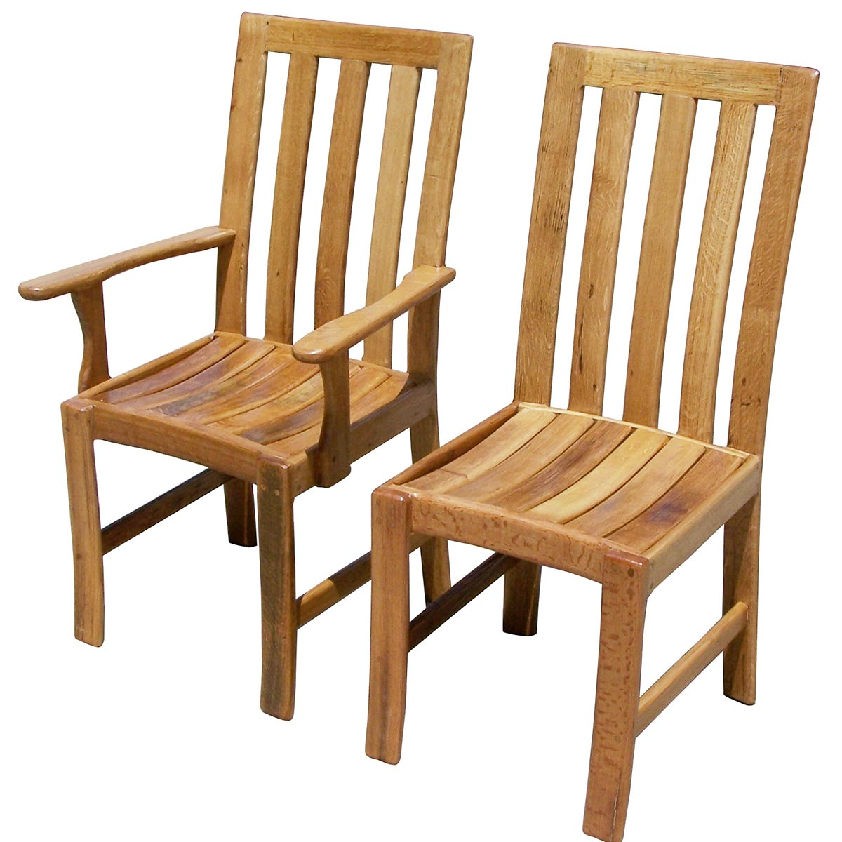 Wine Barrel Dining Room Chairs